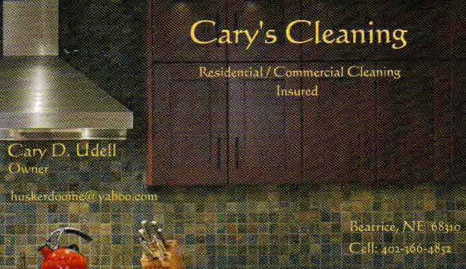 Cary's Cleaning